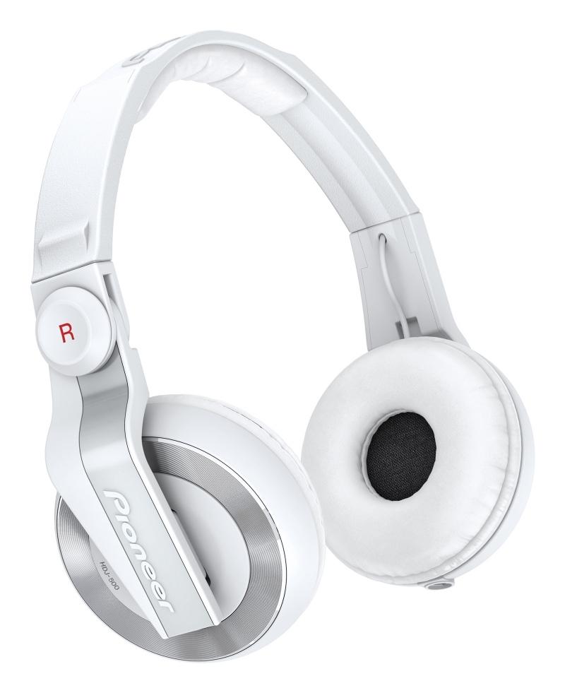 pioneer hdj500 white casque audio dj professionnel. Black Bedroom Furniture Sets. Home Design Ideas