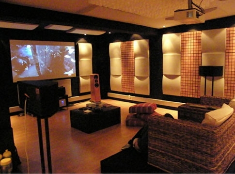 vicoustic cinema round premium 85 panneaux acoustiques absorbants bomb. Black Bedroom Furniture Sets. Home Design Ideas