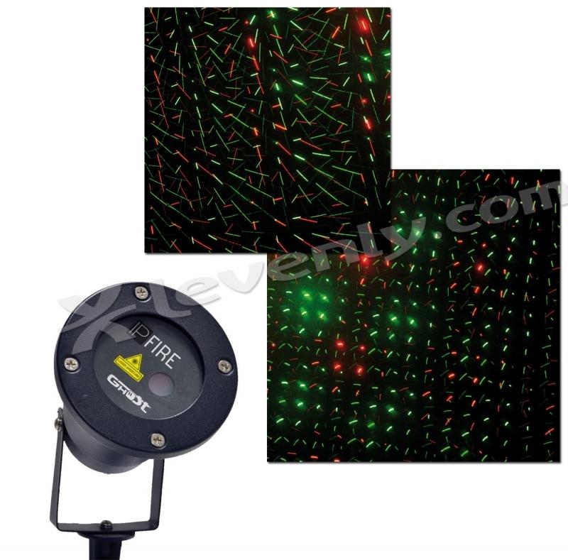 Laser de no l ghost ip fire 3 levenly for Laser decoratif exterieur