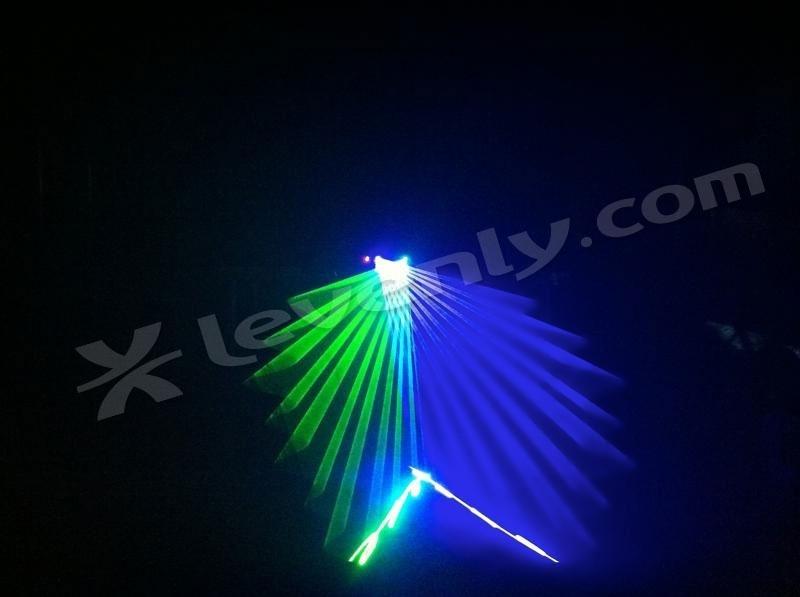 Nicols Twin Laser Gb Double Laser Dmx Vert 40mw Et Bleu