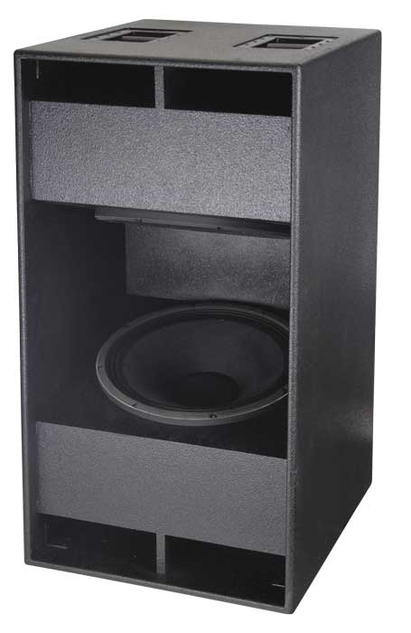 audiophony lp800b caisson de basses 2 x 46 cm 800 w. Black Bedroom Furniture Sets. Home Design Ideas