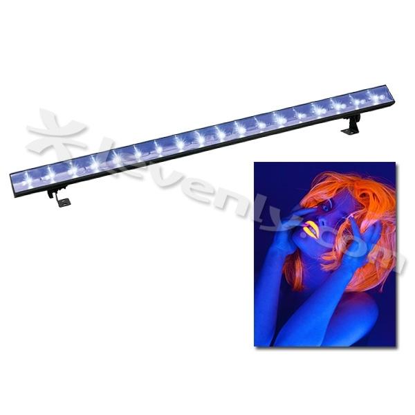 showtec uv led bar 100cm projecteur lumi re noire led. Black Bedroom Furniture Sets. Home Design Ideas