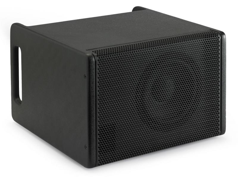 audiophony mio sub6100b caisson 65 39 39 actif 100w sortie 2 x 25w. Black Bedroom Furniture Sets. Home Design Ideas