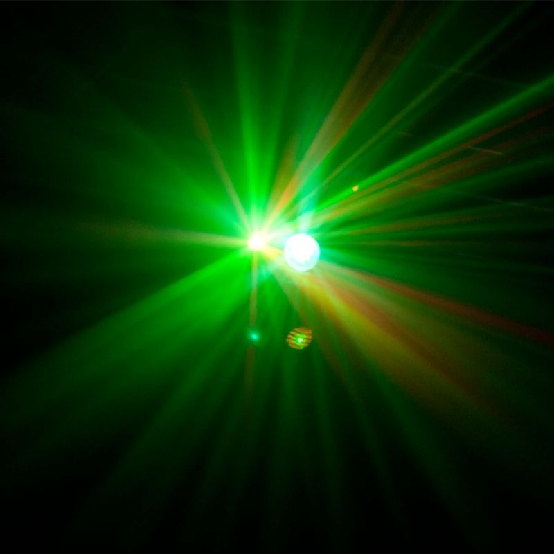 ghost neutrino jeu de lumi re flower laser strobe led. Black Bedroom Furniture Sets. Home Design Ideas