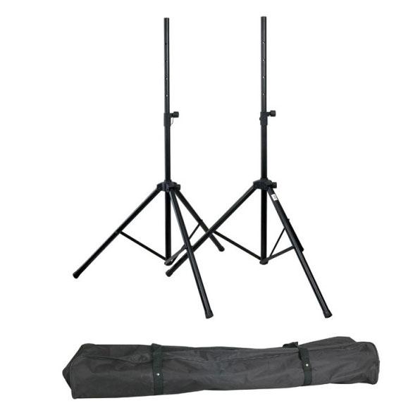 dap audio speaker stand set de 2 pieds d 39 enceintes. Black Bedroom Furniture Sets. Home Design Ideas