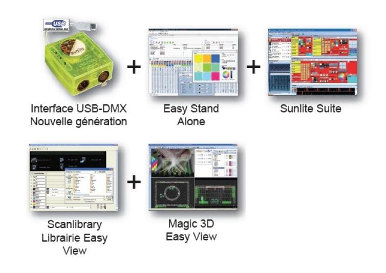 sunlite sunlite 1024ec   logiciel dmx economy class suite2