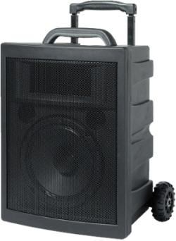 rondson partner sonorisation portable autonome 40w rms. Black Bedroom Furniture Sets. Home Design Ideas