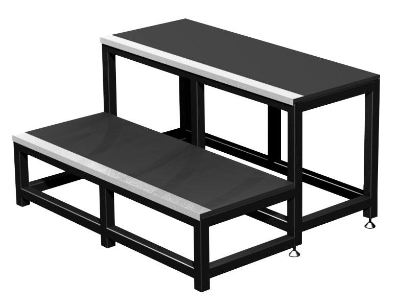 contest stage plt stm40 escalier modulaire 2 marches. Black Bedroom Furniture Sets. Home Design Ideas