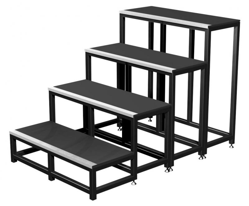 Contest stage plt stm20 escalier modulaire 1 marche for Hauteur marche escalier standard