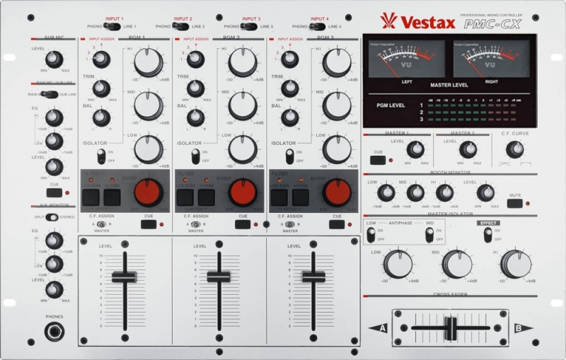 table de mixage techno