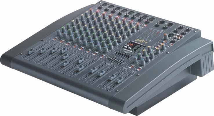 Jb systems pmd8 console amplifi e 16 entr es 8 voies - Console de mixage amplifiee ...