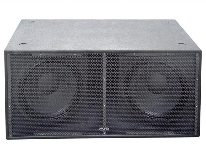 synq rs218 caisson de basse 1200w rms 4 ohms. Black Bedroom Furniture Sets. Home Design Ideas