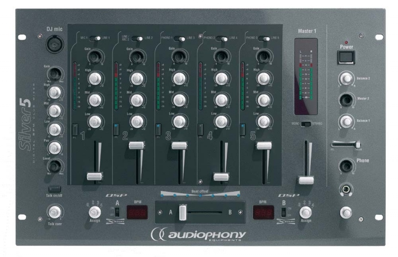table de mixage audiophony silver 2