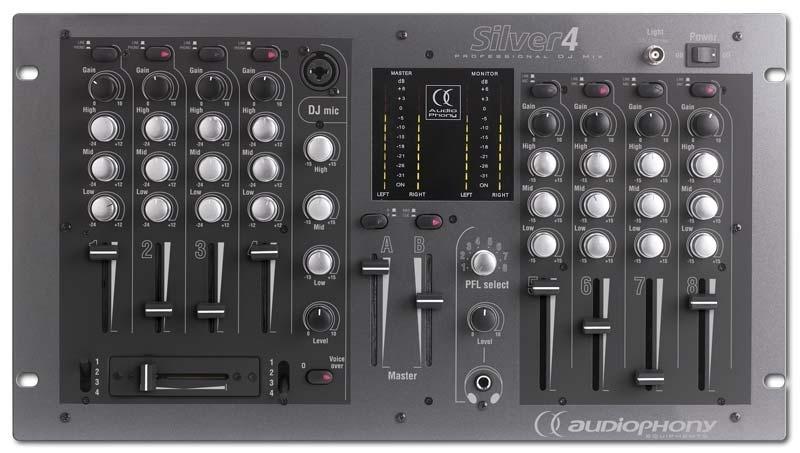Silver4 table de mixage audiophony table de mixage - Branchement enceinte amplifiee table mixage ...
