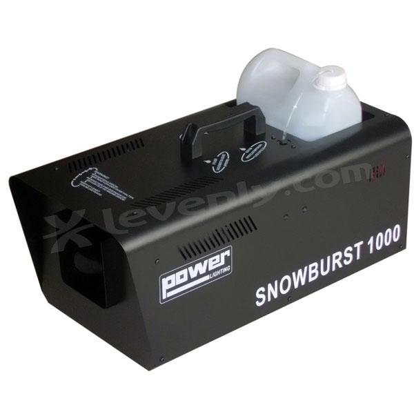 power lighting snowburst1000 machine neige. Black Bedroom Furniture Sets. Home Design Ideas