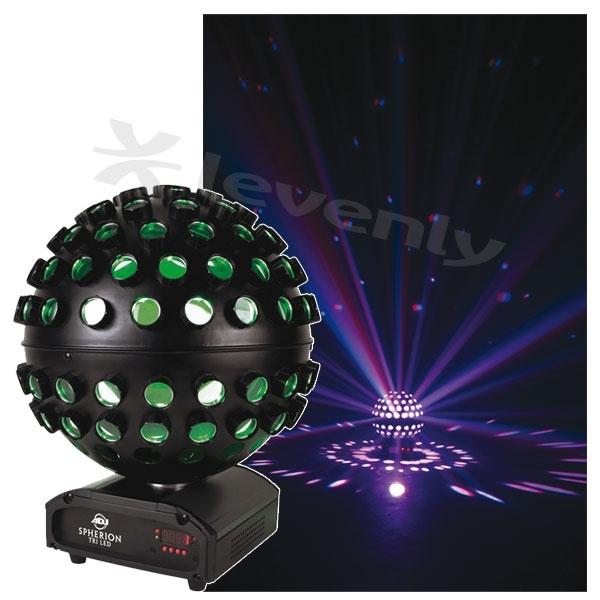 adj spherion tri led jeu de lumi re boule facettes color s. Black Bedroom Furniture Sets. Home Design Ideas
