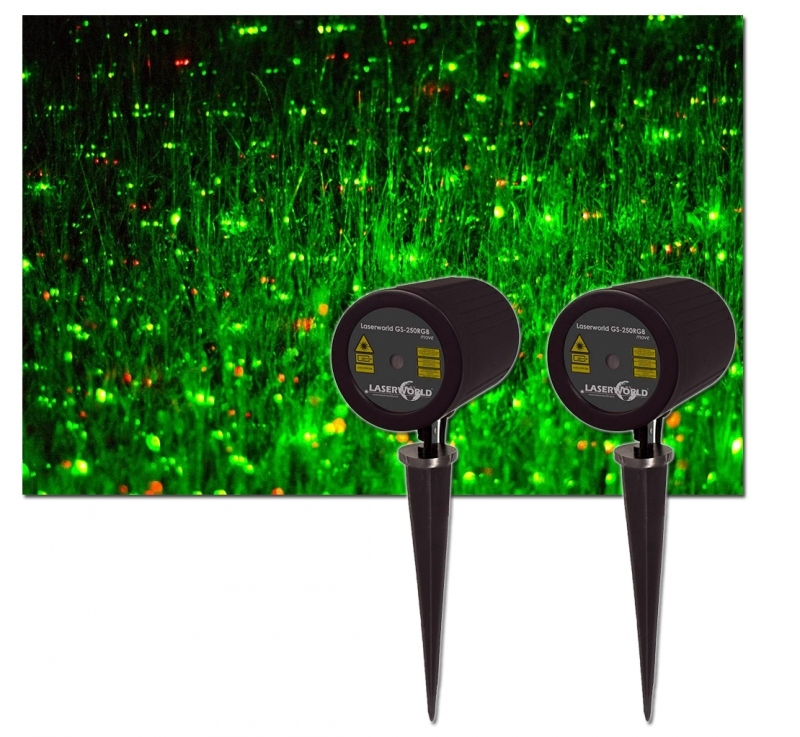 Star shower laser laser d co de no l pour ext rieurs for Illumination exterieur noel