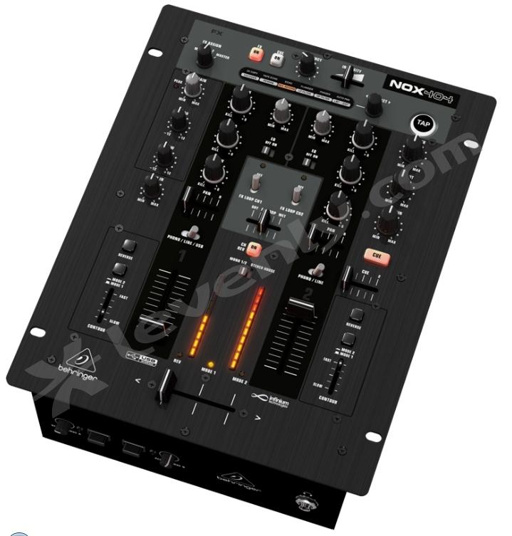 behringer nox404 table de mixage 2 voies avec effets djs. Black Bedroom Furniture Sets. Home Design Ideas