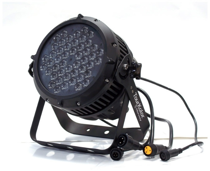 projecteur led 48 x 3w rgbw 180w starway