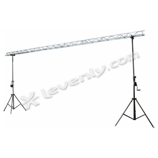 Showtec two stand decotruss for Eclairage stand
