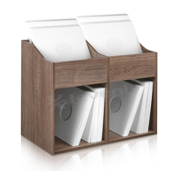 VS-BOX 200/2 WALNUT, RANGEMENT VINYLES ZOMO
