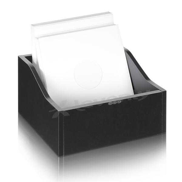zomo vs box 100 1 noir casier rangement bois 100 120 vinyles. Black Bedroom Furniture Sets. Home Design Ideas