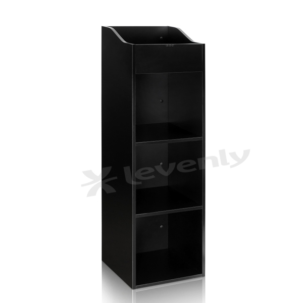 zomo vs box 100 4 noir meuble de rangement 400 480 vinyles. Black Bedroom Furniture Sets. Home Design Ideas