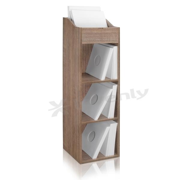 zomo vs box 100 4 walnut meuble de rangement 400 480 vinyles. Black Bedroom Furniture Sets. Home Design Ideas