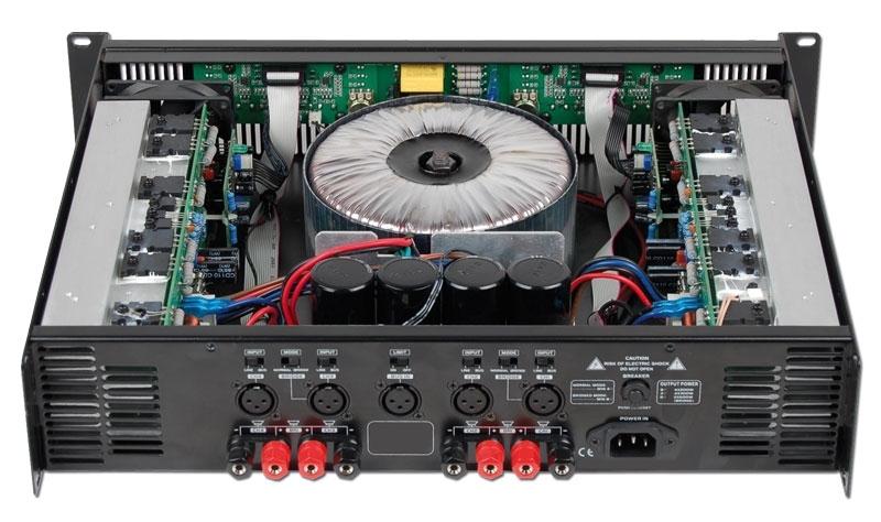 audiophony wa4x3 ampli sono 2 x 600w rms 8 ohms. Black Bedroom Furniture Sets. Home Design Ideas