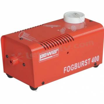 Acheter FOGBURST400 RED, MACHINE FUMEE DE COULEUR ROUGE POWER LIGHTING au meilleur prix sur LEVENLY.com