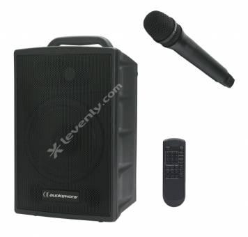 audiophony runner102 sonorisation autonome portable 100w. Black Bedroom Furniture Sets. Home Design Ideas